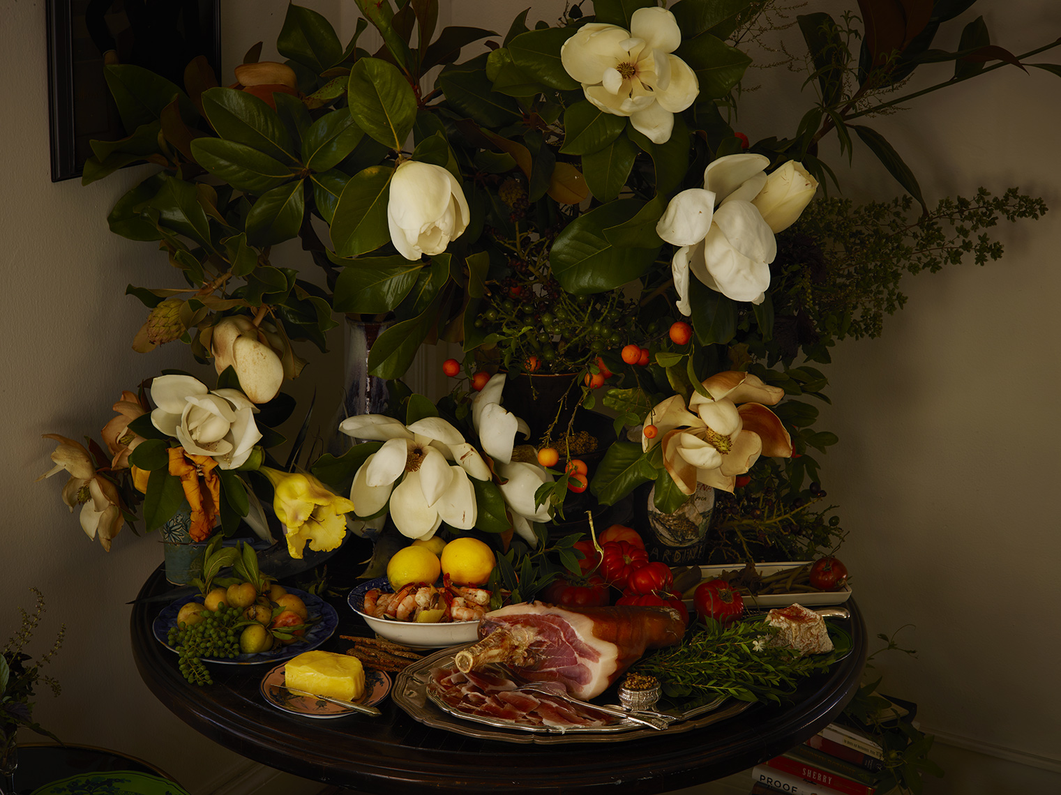 Foraged Flora: Magnolia Lunch
