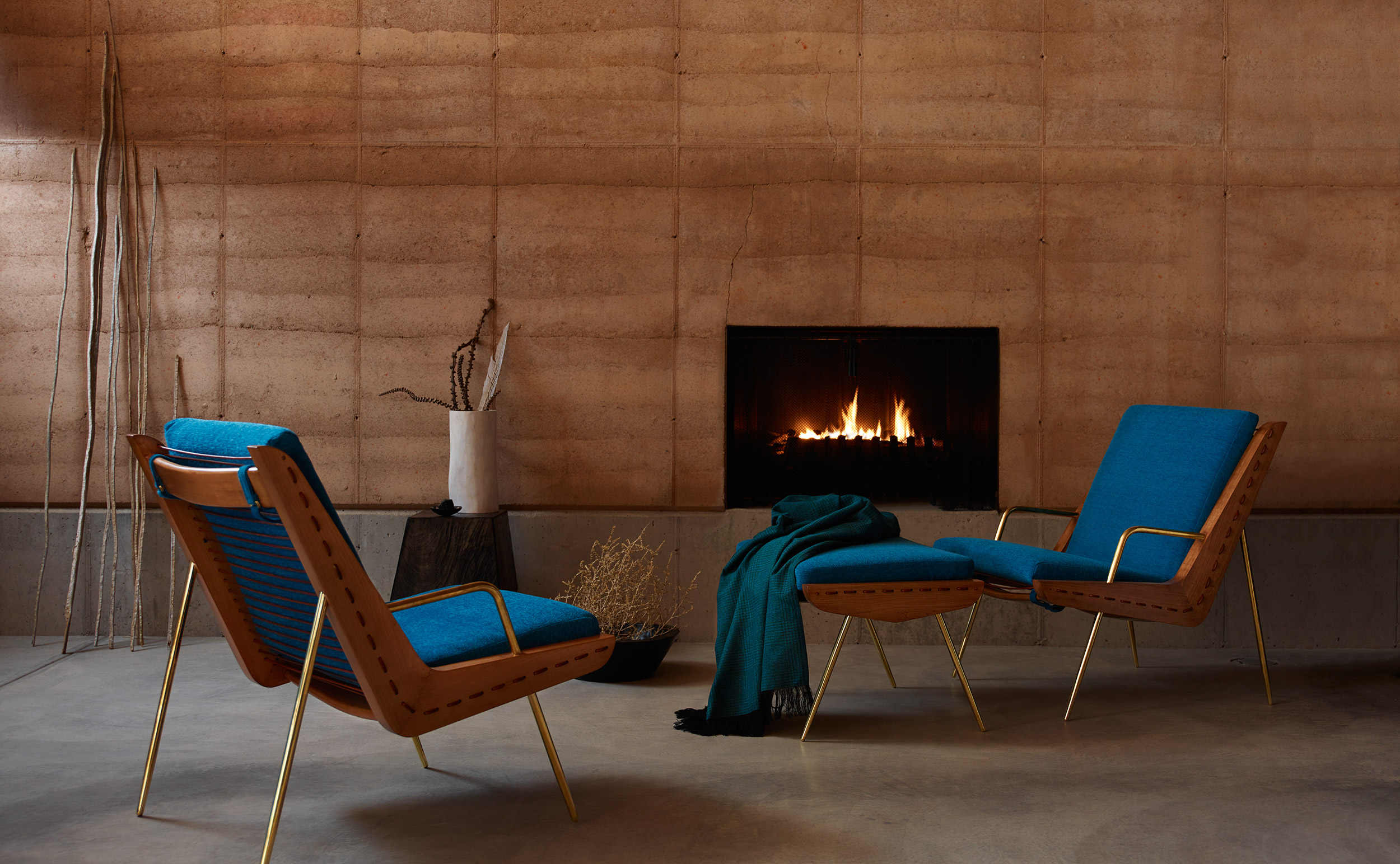 Sunbrella: Fireplace