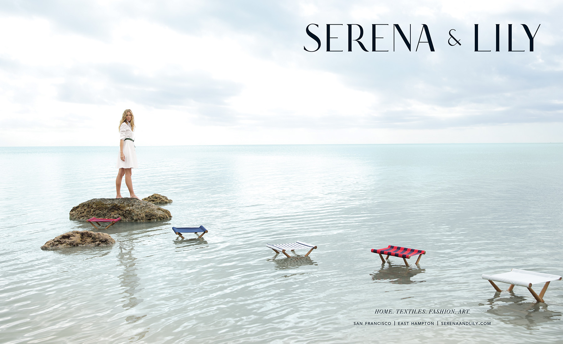 Advertising: Serena and Lily, Summer 2015