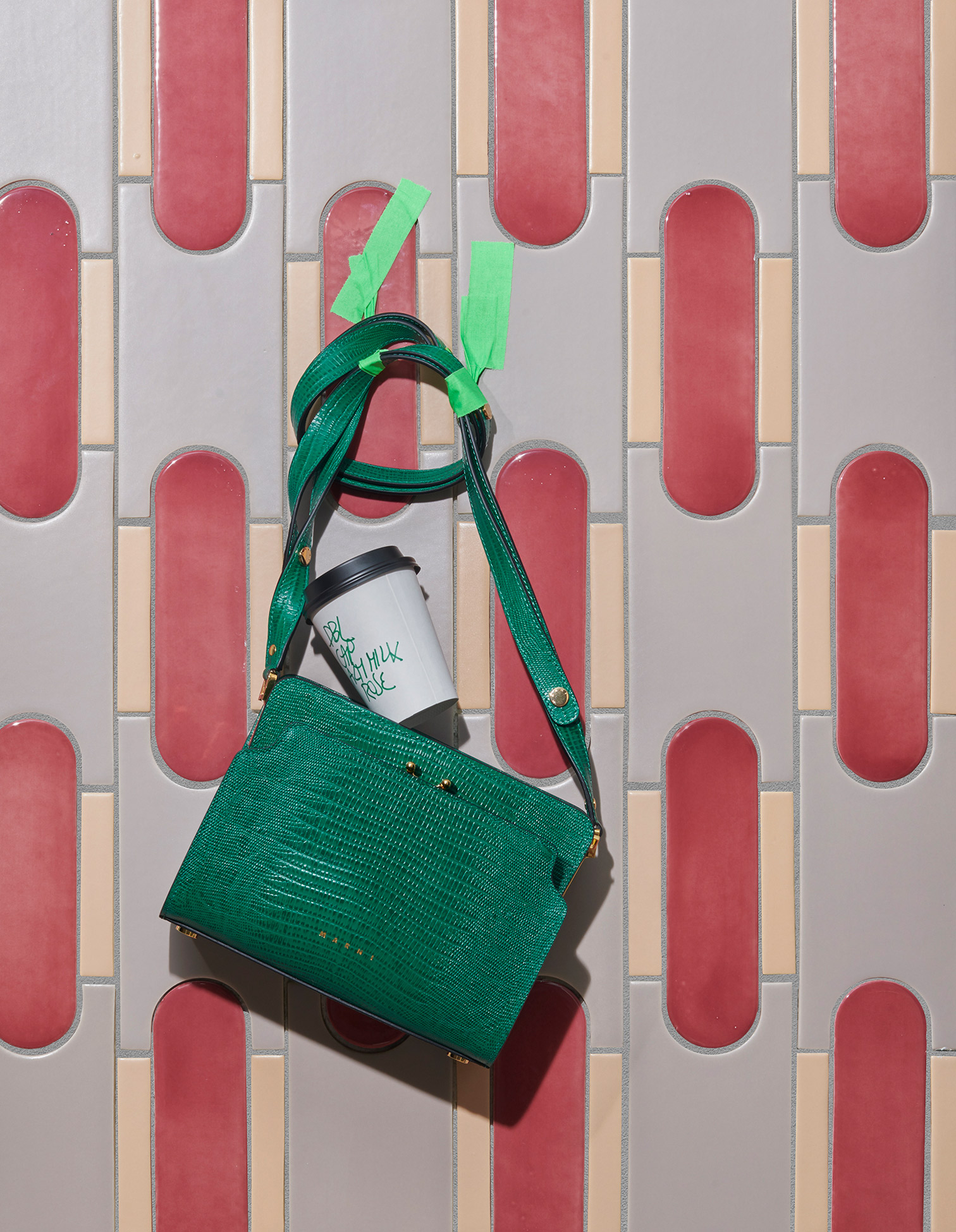 Still Life: Green Bag