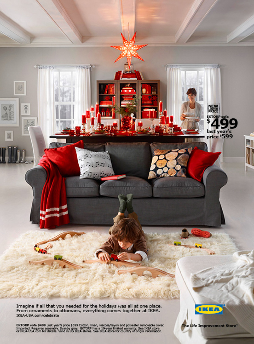 Advertising: Ikea, Holiday