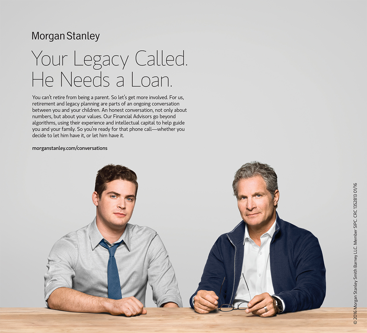 Advertising: Morgan Stanley, Legacy