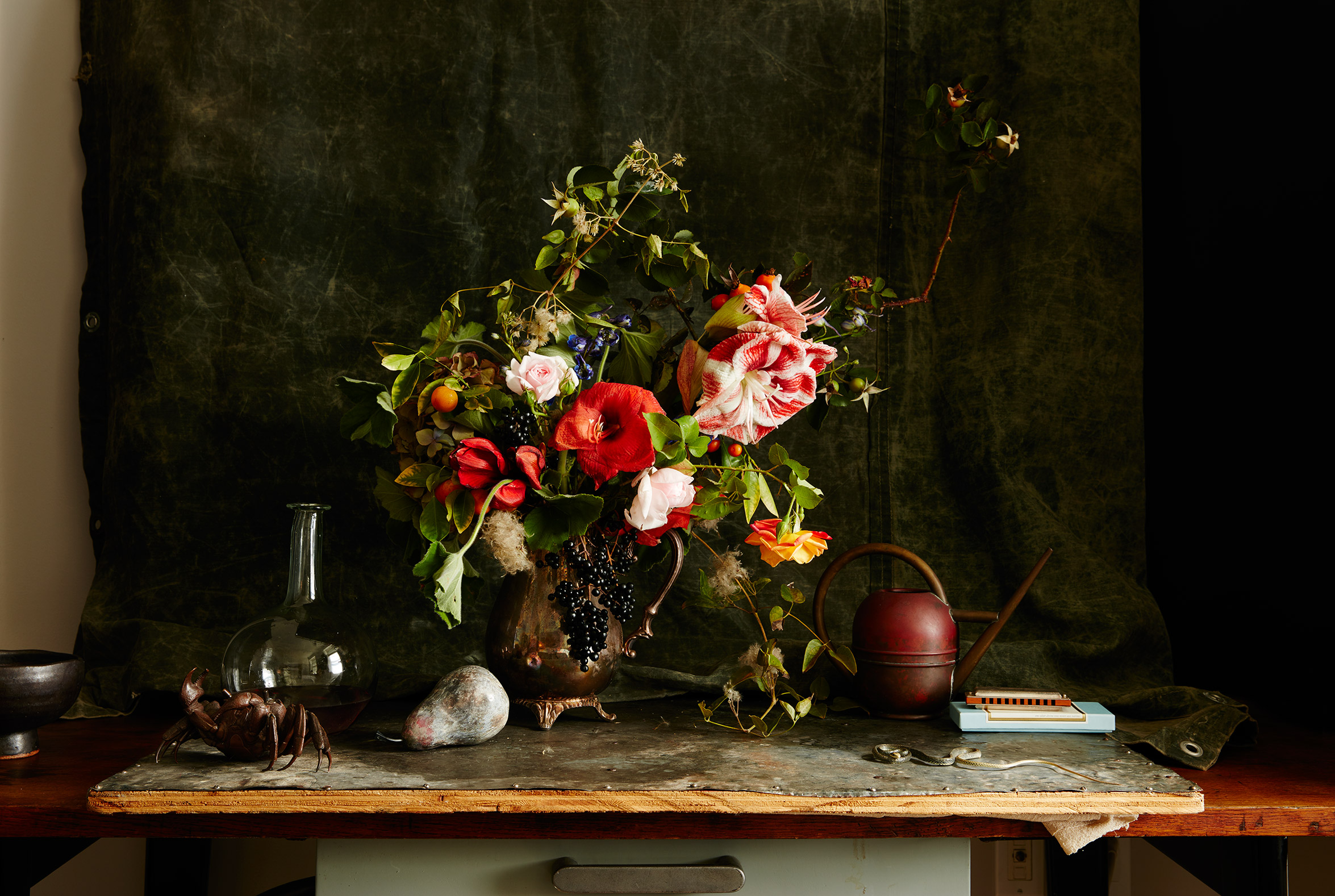 Still Life: Painterly Flowers
