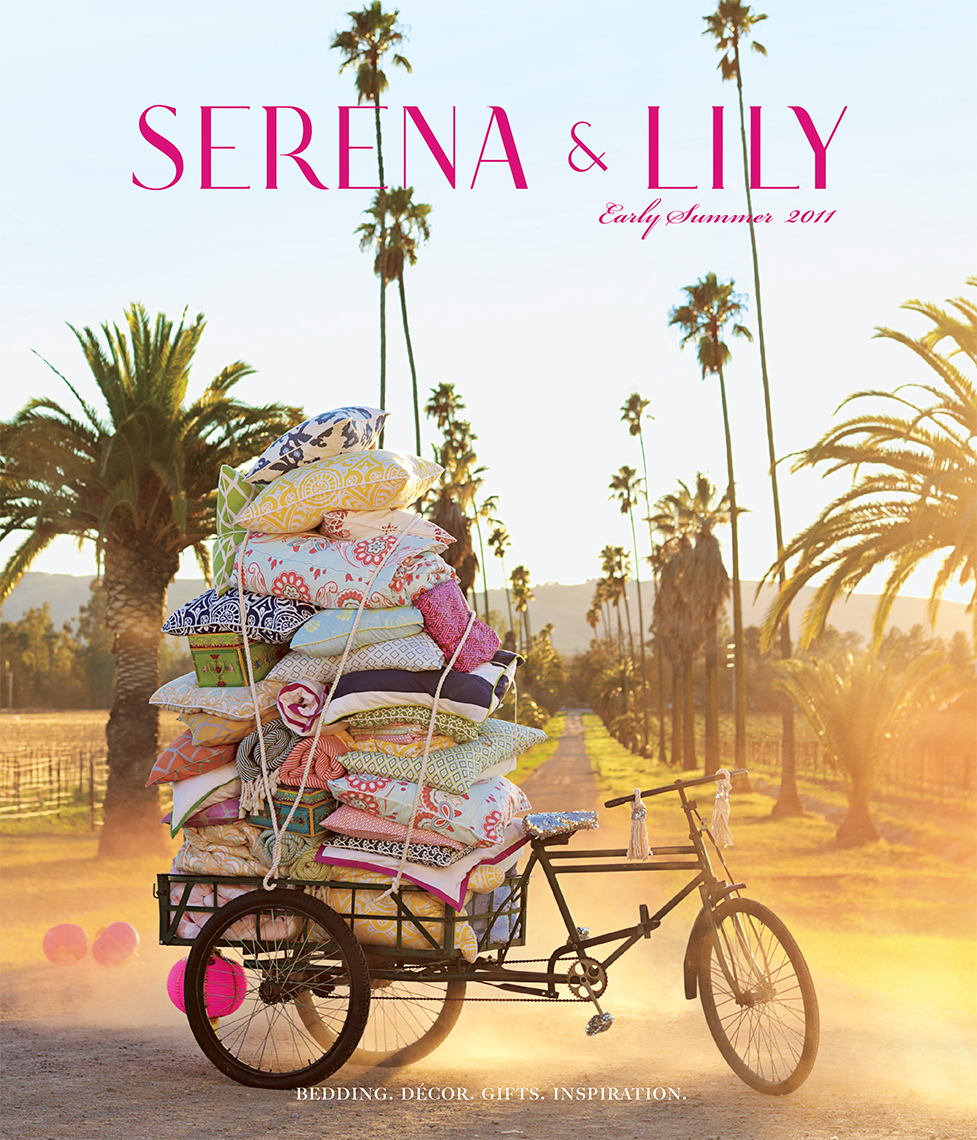Advertising: Serena & Lily Cover