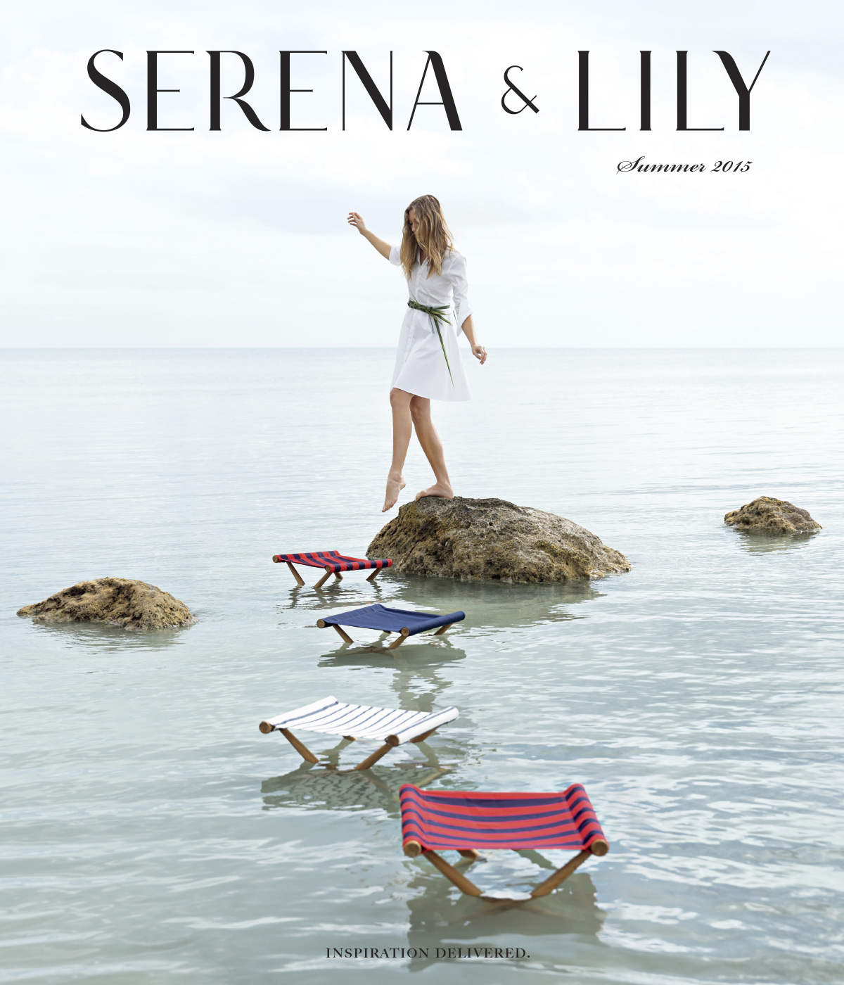 Advertising: Serena and Lily, Cover