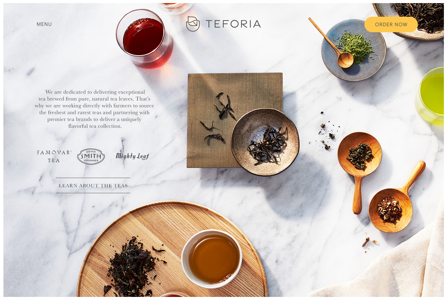Advertising: Teforia, Nature