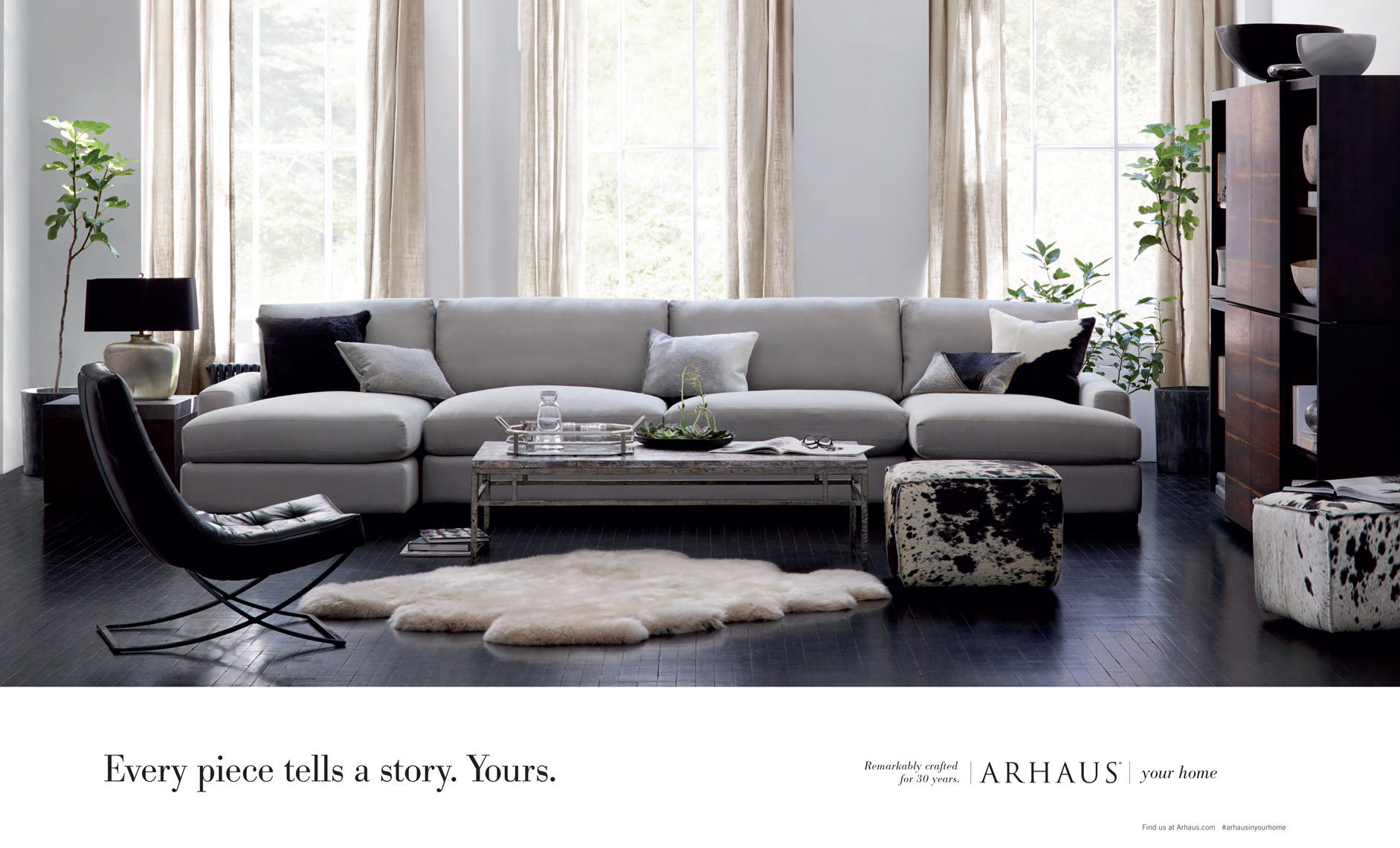 Advertising: Arhaus Remington