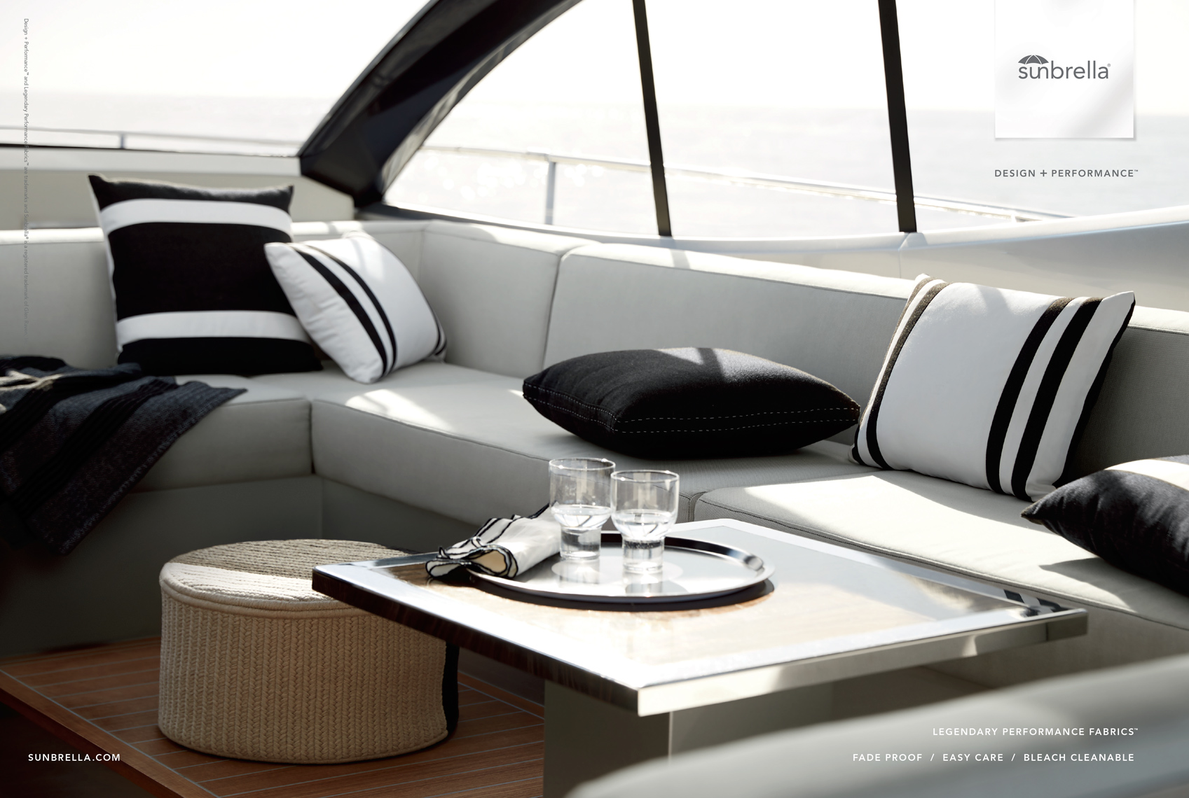 Advertising: Sunbrella Ship Interior