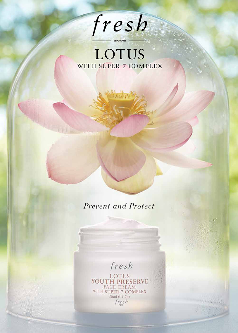 Advertising: Fresh, Lotus