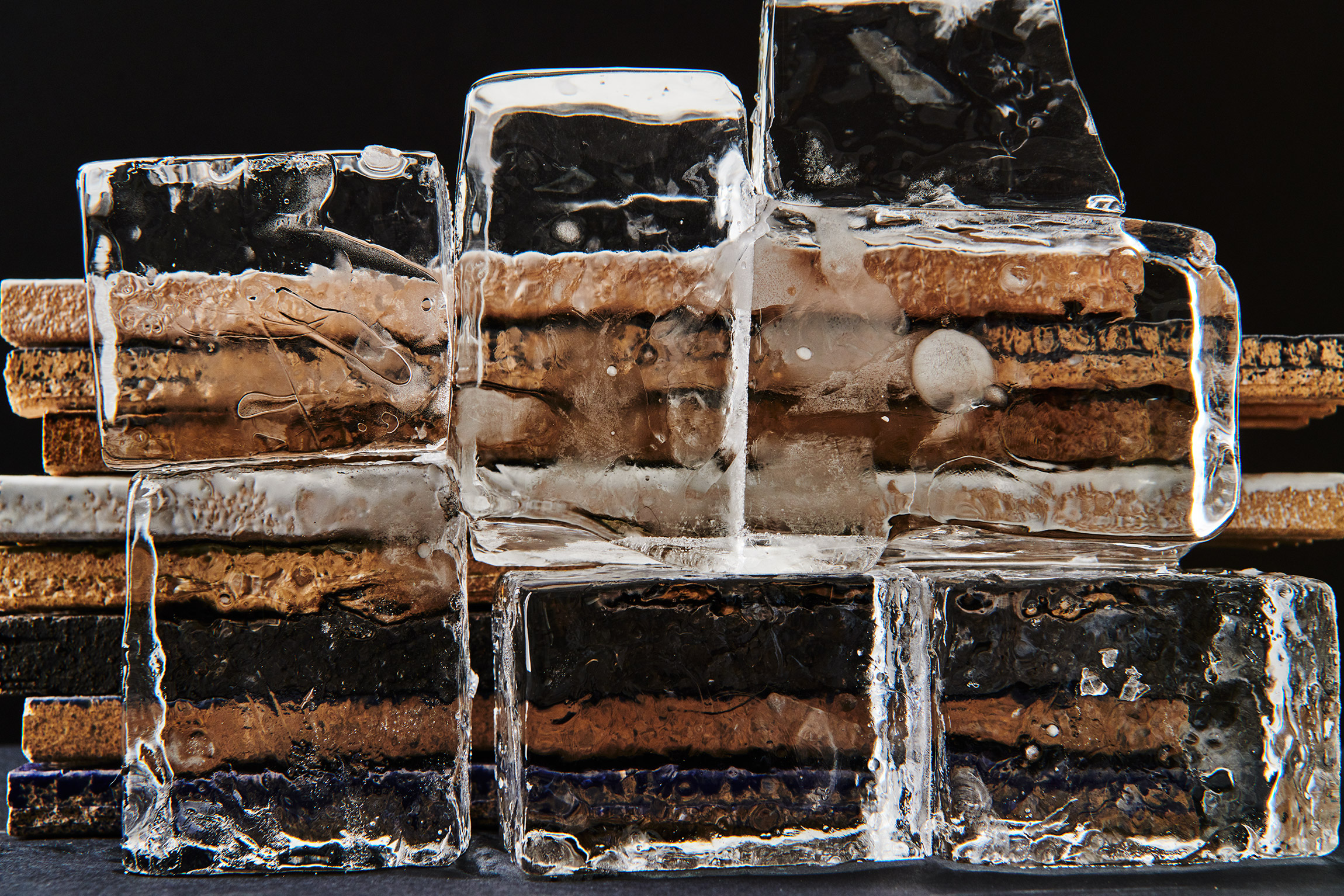 Still Life: Ice and Tiles