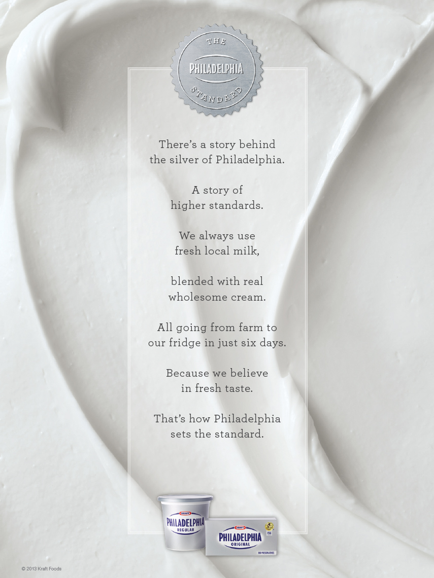 Advertising: Philly Cream Cheese
